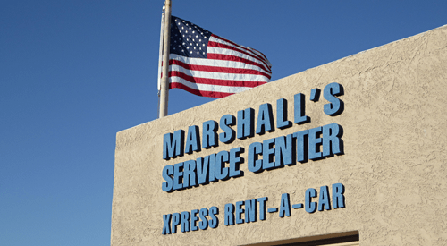 Marshal's Service Center Xpress Rent a Car