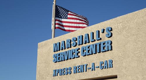Marshal's Service Center Xpress Rent a Car